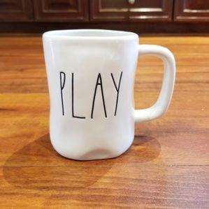 Rae Dunn Play Mug, New